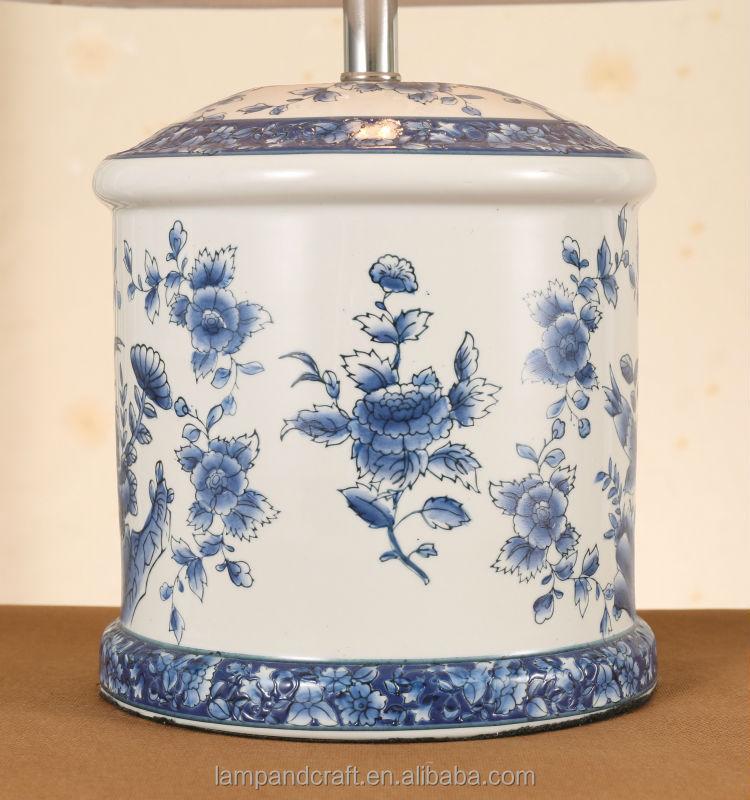 Diseño de lámpara de mesa de cerámica de jingdezhen estilo chino ...