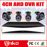 New High Quality CMS Software 720P H264 4 Channel DVR KIT