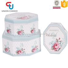Factory-Outlet Hot Sale Tin Box Set ,Household Metal Storage Box