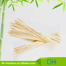 wholesale New design Green flat stick,green bamboo skewer 35cm for BBQ