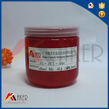 450ml PET manufacture red candy plastic jar with screw cap wholesale