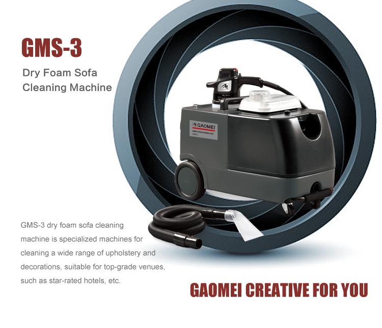 Automático seca máquina de limpeza de espuma para estofados sofá assento de carro GMS-3