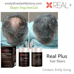 distributors canada, Real Plus hair fibers, hair building fibers!