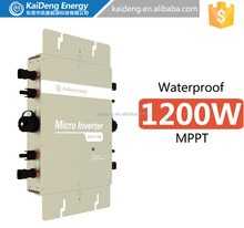 Suitable for 24/60V or 36/72V cells solar panels solar micro inverter 1200W