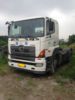 Japan HINO uesd tractor head/used prime mover/tractor trailer truck on sale