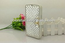 Flip Diamond leather Case Cover For Samsung Galaxy note2 N7100