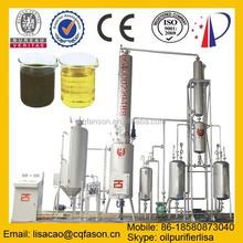 Tire Oil Vacuum Distillation Machine To Diesel ( Change black to yellow)