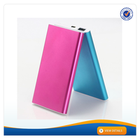 AWC094 Portable Li-polymer Bulk Power Bank Supply 4000mAh External Power Pack for Mobile Phone