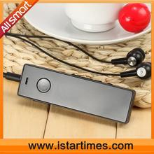 Hot selling wireless mp3 players with call voice recording, FM, TF card slot