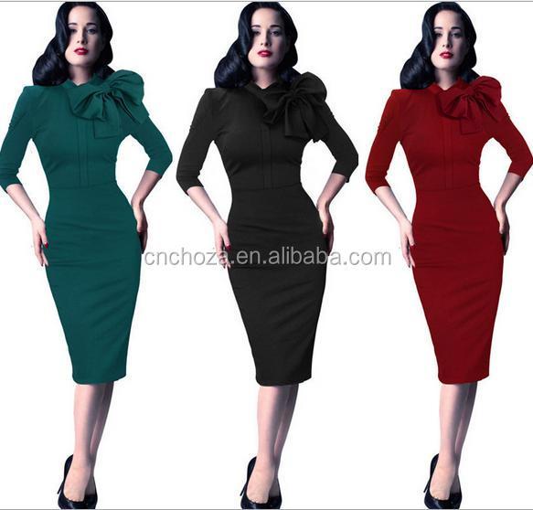 Z53529b Plus Size Office Sexy Fashion Slim Long Sleeve