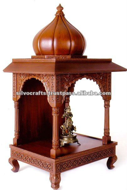 Wooden Carved Dome Mandir Temple Carved Furniture From India Buy Hand Carved Temple Wooden
