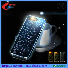 Bling sailing snow for iphone 6 smartphone for iphone 6 case