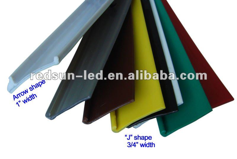 Plastic trim cap for channel letter buy channel letter for Channel letter trim cap