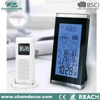 Digital clock with calendar temperature desktop sensor, digital led battery table clock kits