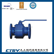 DN25/1 inch RB Forged Floating Ball Valve with Locking Handle