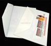 plastic string closure envelopes folder