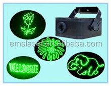 New green animation laser stage light disco laser light stage light with SD card