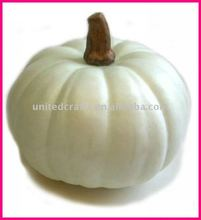 2011 Hot-Selling Natural Popular artificial white pumpkin