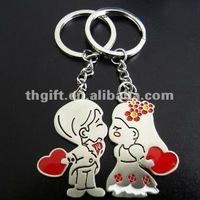Beautiful design wedding design anniversary key chain