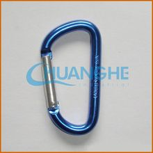 made in china plastic carabiner with clock
