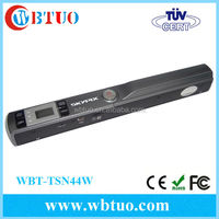 High resolution portable WiFi scanner for phone/Portable A4 document scanner