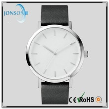 Vogue ultra thin leather stainless steel japanese designer watches top 10 brand men watches