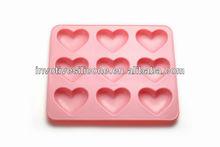 Hot selling Sedex audit fatory durable custom shape silicone chocolate molds