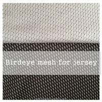 China Wholesale Polyester Tricot Shiny birdeyes Mesh Fabric for Jersey, sportwear, jiangxing textile