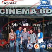 Hot sale 5D cinema 7D cinema theater with cabinet box