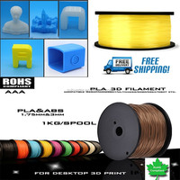 Supply Plastic Rods High quality 1.75mm/3.00mm 3d printer ABS/PLA filament