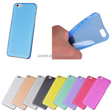 "For Apple iPhone 6 4.7"" Ultra Slim Thin Soft TPU Matte Back Cover Case"