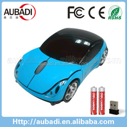 USB 2.0 2.4GHZ Wireless Car Mouse For Ferrari Porsche BMW