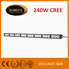 Off road High Power 4x4 Accessories 43.2inch NEW 4D led light bar 240W Tractor LED Bar Light