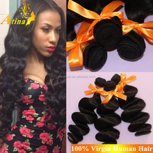 2015 New Hairstyles For Women Cheap Loose Wave European Hair High Quality Loose Deep Wave 100% Human Hair
