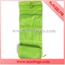 2015 hot selling folding portable travel kit PVC cosmetic toiletry bag