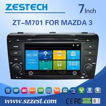 7 inch car multimedia system for Mazda 3 2004-2009 car gps player 2 din car dvd player with GPS DVD USB/SD AM/FM Radio Audio