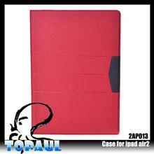 slim folio blank case for ipad air 2 , glossy lightweight case for ipad air 2