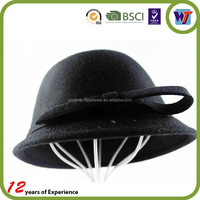trilby hat tiny fedora hat wool felt fedora hat