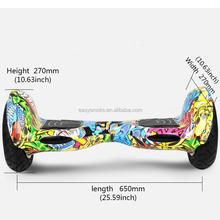 Smart Balance Hoverboard 2 Wheel Scooters Waterproof Electric Scooter 10 inch Tyres Skateboard with Remote Controller Hovertrax