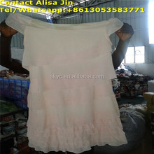 Ladies silk dress clothing well sorted in bales for sale