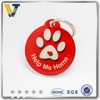 Discount offset Printing anti-lost pet id dog