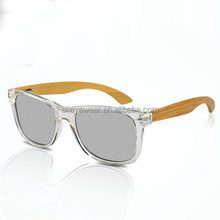 new style fashionable sunglasses with bamboo wooden temples polarized