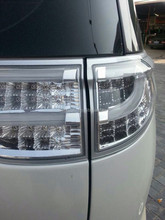 DLAND 2006-2013 ESTIMA 50 / ESTIMA HYBRID 20 / PREVIA LED AUTO TAIL LAMP REAR LIGHT ASSEMBLY, FULL LED,FOR TOYOTA