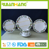 20pcs porcelain dinne set,ceramic dinnerware,restuanre tableware