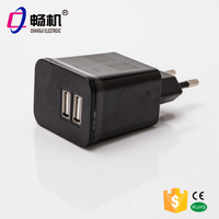 5V 2.1A 2 USB port mobile phone charger | usb travel charger