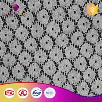 Factory Direct Price Custom Color Hollow Out Crochet Lace Fabric