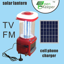2015 Man-carried CHL solar charger iphone with tv and usb