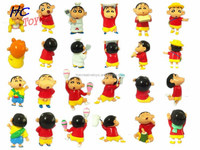 Japanese Hot Crayon Shin-chan 14pcs PVC Model Movie Toy