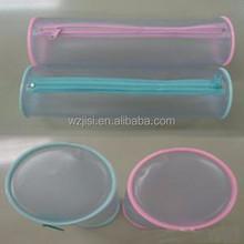 round pvc plastic pencil case