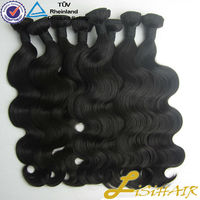 Natural Color Unprocessed 5A Grade Body Wave 100% Virgin Brazilian Hair